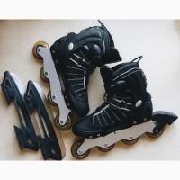 Продам Ролики + коньки (сменное лезвие) Action PW-119A