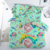 Единороги Арт, постельное белье для девочек (поплин, 100% хлопок)