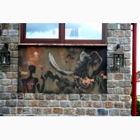 Художественное оформление, граффити на заказ, роспись стен