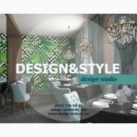 Авторский дизайн интерьера в Днепре