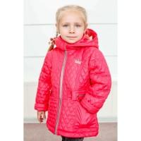 Детская демисезонная куртка Марьяша для девочек возраст 1-7 лет