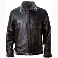 Шкіряна куртка Top Gun Leather Jacket with Bonded Fur