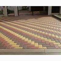 Плитка тротуарная ФЭМ Кирпич толщиной 4см и 6см
