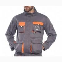 Куртка рабочая TX10, цвет - серый / оранжевый