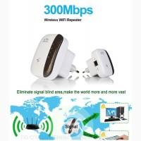 Wi-Fi ретранслятор 2400 МГц 802.11n/b/g 300 Мбит/с WPS