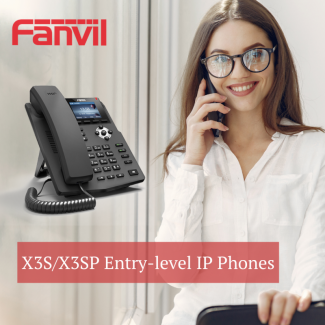 IP телефон Fanvil ХЗS / X3SP