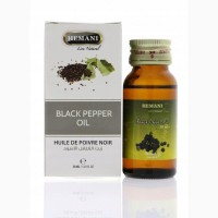 Масло черного перца Black Pepper Oil 30 мл. Hemani