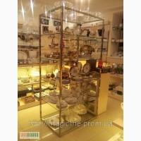 Торговый стеллаж для посуды, сувениров, цветов и пр