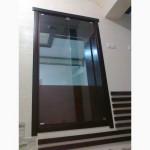 Стекло для душевых, интерьера в ванной и межкомнатных конструкций закаленное