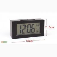 Настольные часы с подсветкой (часы, термометр, будильник)