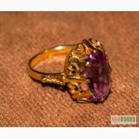 Золотое кольцо перстень