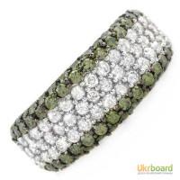 Золотое кольцо с натуральными бриллиантами 2,10 карат. НОВОЕ! Шикарное кольцо!