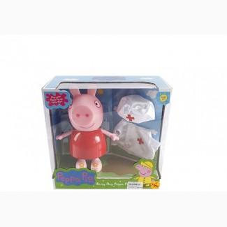 Свинка Пеппа в халате доктора