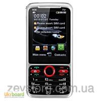 Ультратонкий мобильный телефон DONOD N 30 TV (KEEPON) сенсорный 2, 8 экран 2SIM TV FM