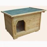 Будки деревянные для средних и крупных собак