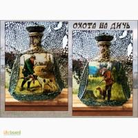Подарочная бутылка Охота, подарок мужчине охотнику на день рождения юбилей