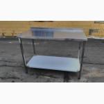 Стол из нержавейки, производственный стол новые столы