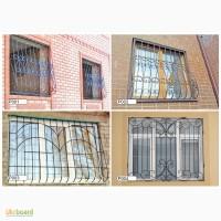 Решетки на окна металлические сварные