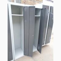 Шкаф металлический для одежды бу, шкаф для сменной одежды б/у