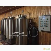 Пивоварни Гончарова на 300 л, 500 л