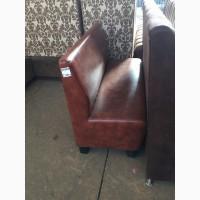 Продам коричневые диваны б/у для кафе, офиса, ресторана