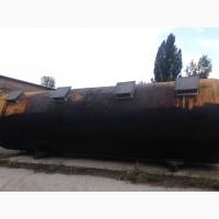 Емкость толстотстенная - ж/ д цистерна 73.1 куб. м - поставка и монтаж