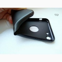 Черный силиконовый чехол на Iphone 6s, 7 и 8. Диагональ 4, 7