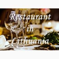 Продается работающий ресторан в центре Вильнюса (Литва)
