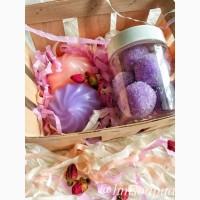 Подарочный набор мыло ручной работы Ягодный