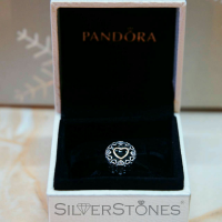Оригинал Pandora Пандора шарм бусина Круг любви арт. 792009CZ