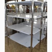 Стеллаж 1200*500*1800 из нержавеющей стали от производителя в наличии новый на складе