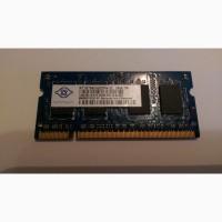 Оперативная память Nanya 1GB DDR2 Memory SO-DIMM 200pin PC2-5300s 667MHz NT1GT64UH8D0FN-3C