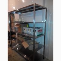 Продам стеллаж из нержавеющей стали для заведений общепита