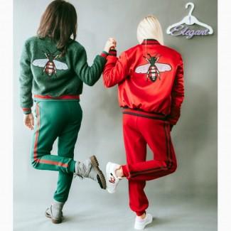 Женский спортивный костюм в стиле Gucci