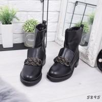 Ботинки женские Brandy черные
