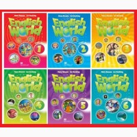 Продам English world 1, 2, 3, 4, 5, 6 уровни Pupils_Book+workbook