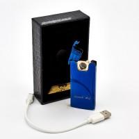 Плазменная спиральная USB-зажигалка GENTELO в подарочной упаковке 4-6511