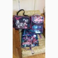 Ортопедический рюкзак, сумка, рюкзак для обуви Монстер хай