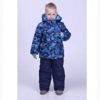 Детские зимние тёплые комбинезоны для мальчиков 1-5 лет, цвета разные-S9959