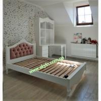 Спальный гарнитур Скарлет в детскую, подростковую комнату массив дерева