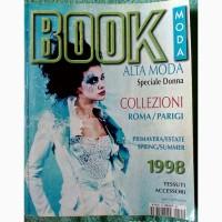Журнал Book Alta modа Collezioni 1998
