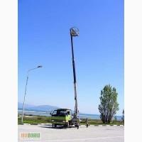 Аренда автовышки Mitsubishi Canter 17 метров