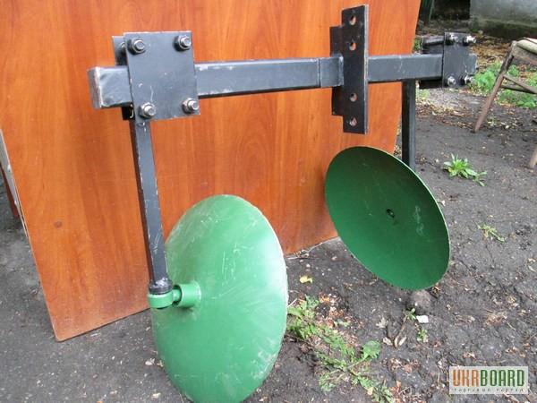 Фото к объявлению: окучник дисковый регулируемы на подшипниках - Ukrboard.Kharkov