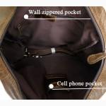 Продается оригинальный стильный кожаный рюкзак - трансформер, 5 в 1, ультравинтаж