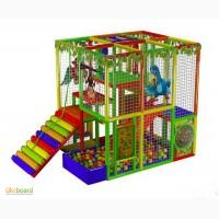 Детский игровой лабиринт Лесные зверюшки