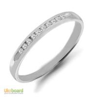 Золотое кольцо с бриллиантами 0,06 карат 18 мм. НОВОЕ (Код: 14833)