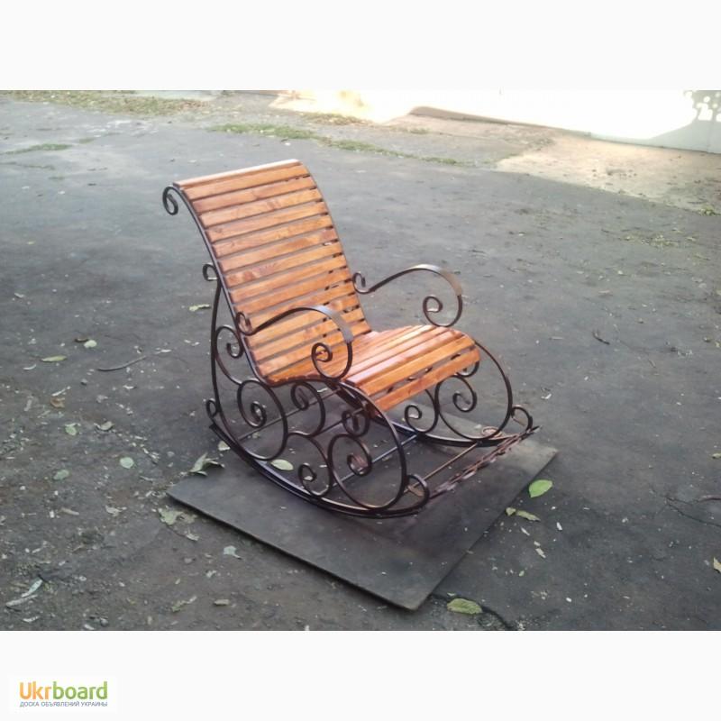 Как сделать кресло качалку из профтрубы