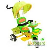 Детский трехколесный велосипед Speed green