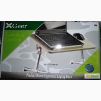 Продам.Компьютерный столик XGear с кулером (столик для ноутбука Иск Гир)
