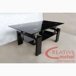 Журнальный стеклянный столик Леон
